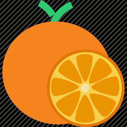 citrus, fruit, healthy, orange, tropical, vegan, vitamin c icon