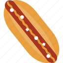 eat, fastfood, hamburger, hotdog, junk food, meal, restaurant icon
