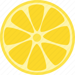 citrus, food, fruit, healthy, lemon, lime, yellow icon