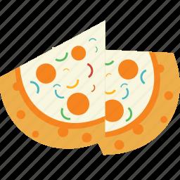 cheese, delicacy, delicious, food, italian, junk, pizza icon