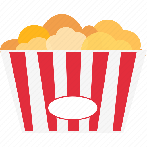 cinema, cup, eat, movie, popcorn, snack, theater icon