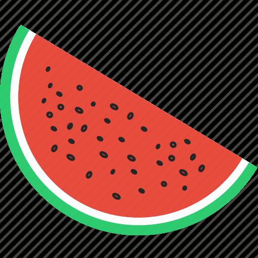 fruit, juicy, melon, tropical, vegan, vegetable, watermelon icon