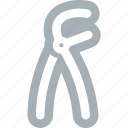 bone, dentist, dentistry, extracting, teeth, tooth icon