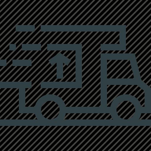 delivery, logistics, truck, van icon