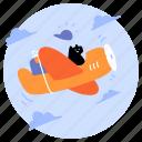 delivery, transportation, transport, air, airplane, aeroplane, international