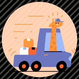 delivery, transportation, transport, land, car, vehicle, automobile, local, national