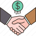 partnership, agreement, deal, contract, business