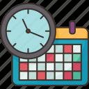 schedule, time, date, appointment, calendar