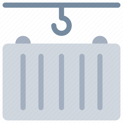 container, delivery, logistics, shipping, store icon