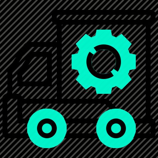 cargo, express, service, shipping, transportation icon