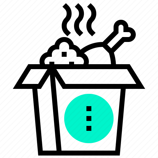 delivery, fast, food, meal, takeout icon