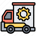 cargo, express, service, shipping, transportation icon