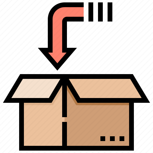 order, packing, parcel, processing, ship icon