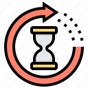 delivery, processing, time, transit, waiting icon