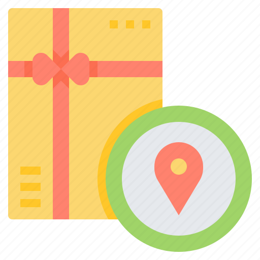 Address, delivery, destination, location, pin icon - Download on Iconfinder