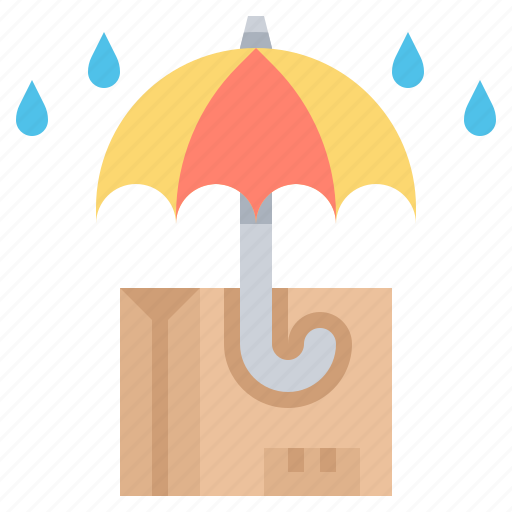 parcel, post, protection, service, shipping icon
