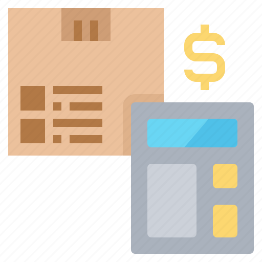Calculator, cost, payment, rates, shipping icon - Download on Iconfinder