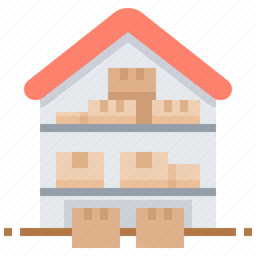 Depository, factory, repository, storehouse, warehouse icon - Download on Iconfinder