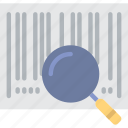 barcode, business, code, coding, development, programming, script icon