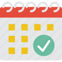 business, calendar, date, event, schedule, time icon