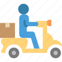 box, delivery, gift, package, shipping, transport icon