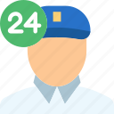 avatar, delivery, face, man, people, person, profile icon