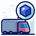 delivery, shipment, transportation, truck, vehicle icon