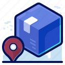shipping, delivery, box, shipment, parcel, track icon