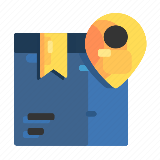Box, delivery, location, shipping icon - Download on Iconfinder