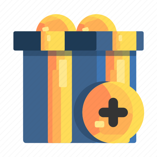 Addition, additions, bonus, bonuses, of, prizes, submissions icon - Download on Iconfinder