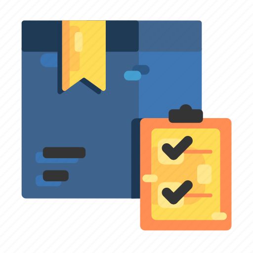 Boxes, check, checking, checks, goods, stock icon - Download on Iconfinder
