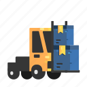 cars, freight, goods, shipping, transport icon