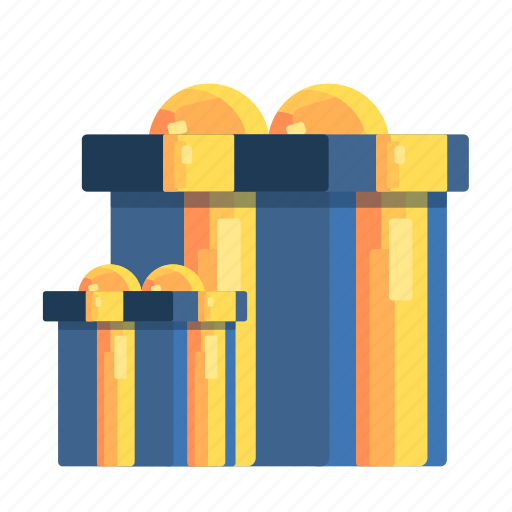 bonuses, gifts, goods, lots, shipping icon