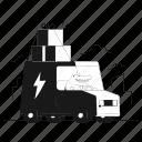 delivery, logistics, order, deliver, transport, transportation, land, truck, vehicle