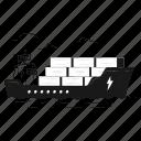 delivery, logistics, order, deliver, transport, transportation, sea, boat, ship