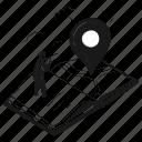 location, navigation, direction, timeline, history, map, destination