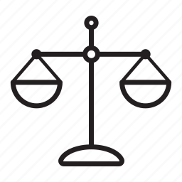 balance, court, jurisdiction, justice, scales, weigher, weight icon