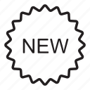 latest, new, novelty, shop, shopping icon