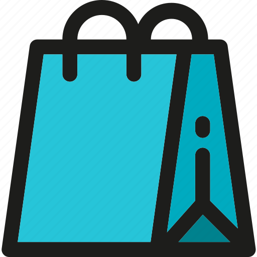 Bag, shopping, delivery, online, shipping, shop, transport icon - Download on Iconfinder