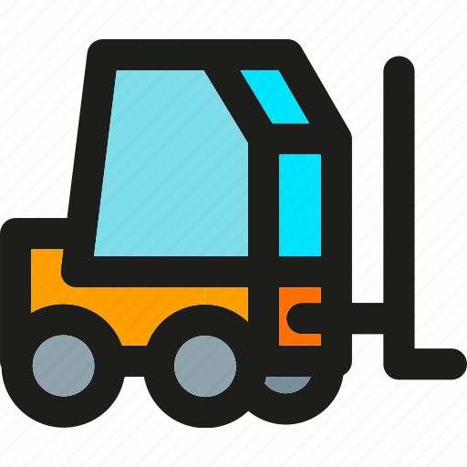 box, cargo, delivery, lift, transport, transportation, truck icon