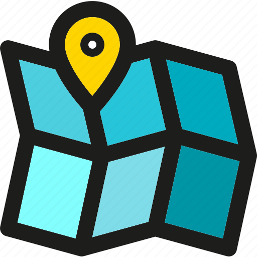 Location, arrow, direction, map, navigation, pin, pointer icon - Download on Iconfinder