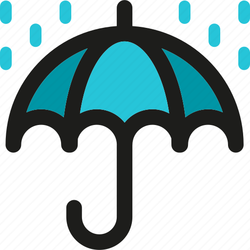 insurance, protection, secure, security, shield, umbrella icon