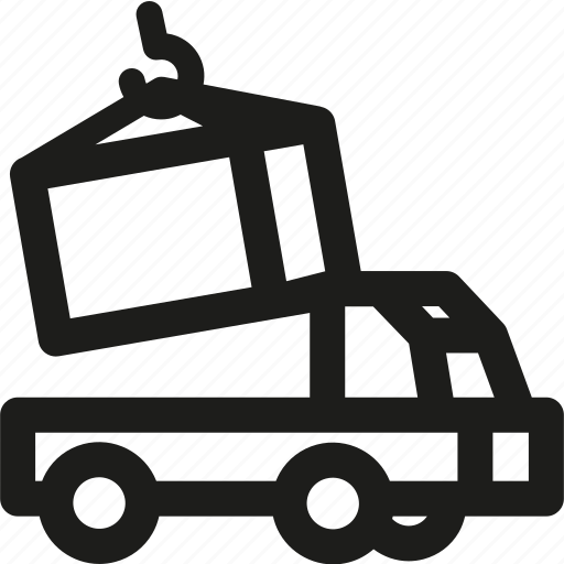 delivery, load, shipping, transport, transportation, truck, vehicle icon
