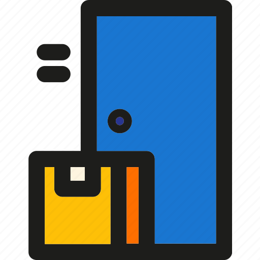 box, delivery, package, place, shipping, transport icon