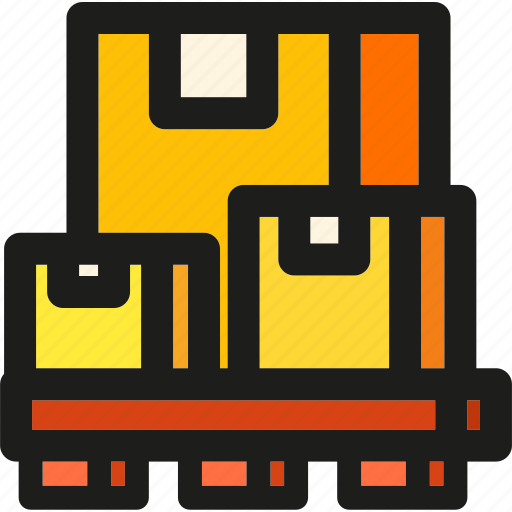 box, delivery, logistic, package, packages, shipping, transport icon