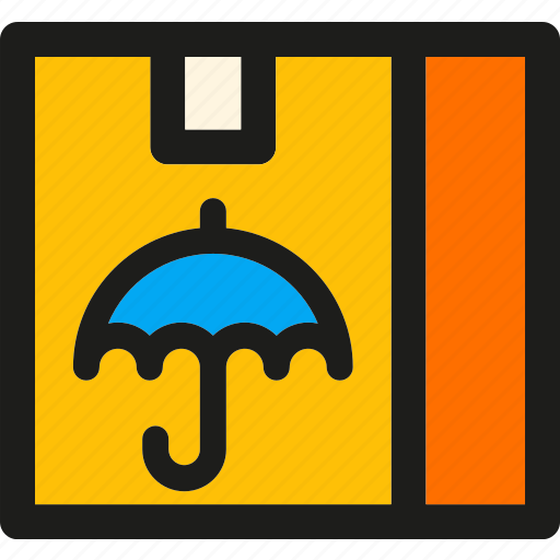 box, delivery, insurance, package, safe, shipping, transport icon