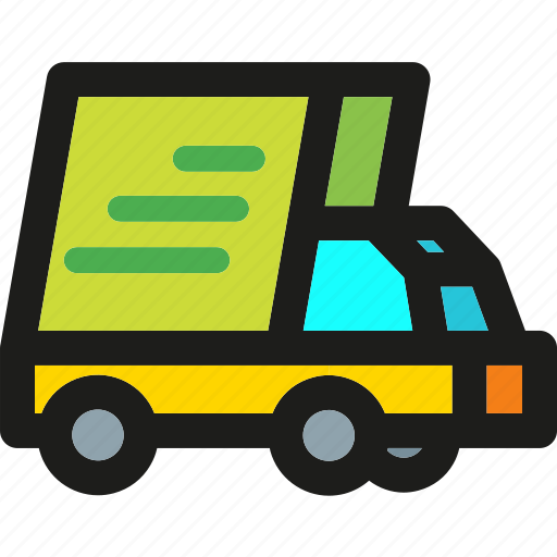 delivery, fast, package, shipping, transport, truck icon