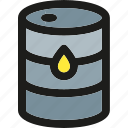 delivery, fuel, oil, package, petrol, shipping, transport icon