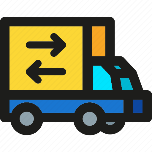 box, package, shipping, transport, transportation, truck icon