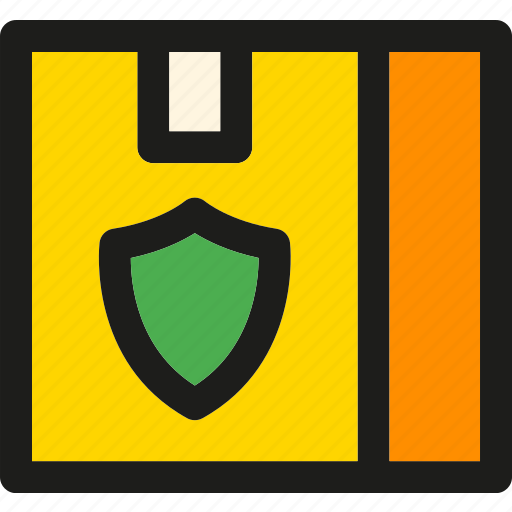 box, delivery, insurance, logistic, package, shipping, transport icon